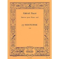 FAURE G. NOCTURNE N°2 OP 33 PIANO