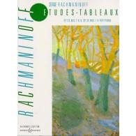 RACHMANINOV S. ETUDES TABLEAUX OP 33 OP 39 PIANO