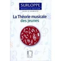 SURLOPPE M. THEORIE MUSICALE DES JEUNES NOUVELLE EDITION