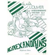 LOUVIER A. AGREXANDRINS VOL 3 PIANO