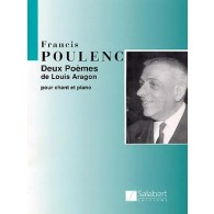 POULENC F. 2 POEMES DE LOUIS ARAGON CHANT