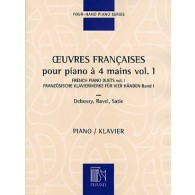 OEUVRES FRANCAISES VOL 1 PIANO 4 MAINS