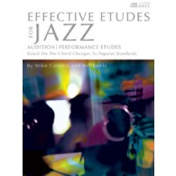 CARUBIA/JARVIS EFFECTIVE ETUDES FOR JAZZ SAXO TENOR