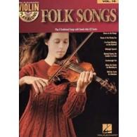VIOLIN PLAY-ALONG VOL 16 FOLK SONGS VIOLON