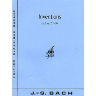 BACH J.S. INVENTIONS A 2 ET 3 VOIX PIANO