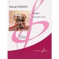 JORAND M. EL BOLERO PERCUSSION ET PIANO