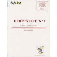 SAUVAGE D. CHAM' SUITE N°1 PERCUSSIONS