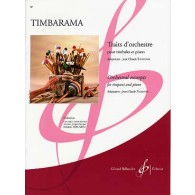 TIMBARAMA TRAITS D'ORCHESTRE TIMBALES