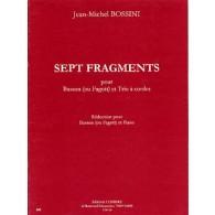 BOSSINI J.M. FRAGMENTS BASSON