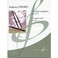 GIRARD A. ETUDES SINGULIERES BASSON