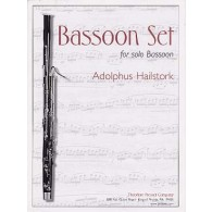 HAILSTORK A. BASSOON SET BASSON