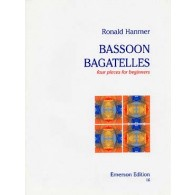 HANMER R. BASSOON BAGATELLES BASSON