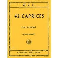 OZI E. CAPRICES BASSON