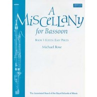 ROSE M. A MISCELLANY FOR BASSOON VOL 1 BASSON