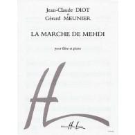 MEUNIER G./DIOT J.C. MARCHE DE MEHDI FLUTE