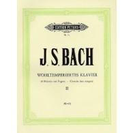 BACH J.S. CLAVECIN BIEN TEMPERE VOL 2 PIANO