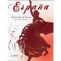 ESPANA SELECTED SPANISH FAVORITES PIANO