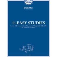 11 EASY STUDIES PIANO