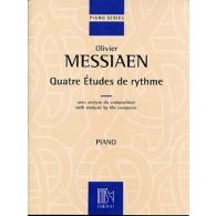 MESSIAEN O. 4 ETUDES DE RYTHMES PIANO