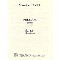 RAVEL M. PRELUDE PIANO