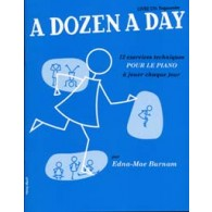 BURNAM E.M. A DOZEN A DAY VOL 1 PIANO