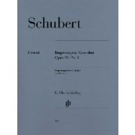 SCHUBERT F. IMPROMPTU OP 90 N°3 PIANO