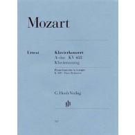 MOZART W.A. CONCERTO N°23 K 488 2 PIANOS 4 MAINS