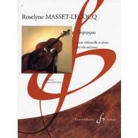 MASSET-LECOCQ R. TRIPTYQUE VIOLONCELLE
