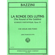 BAZZINI A. LA RONDE DES LUTINS OP 25 VIOLON