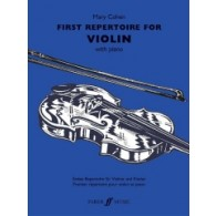 COHEN M. FIRST REPERTOIRE VIOLON