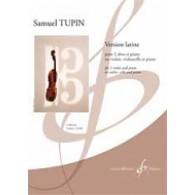 TUPIN S. VERSION LATINE 2 ALTOS (OU VIOLON, VIOLONCELLE) PIANO
