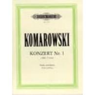 KOMAROWSKI A. CONCERTO N°1 VIOLON