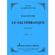 LECLERC M. LE SALTIMBANQUE VIOLON