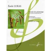 LUKAS E. FATRASIE DE PRINTEMPS SAXO ALTO SOLO
