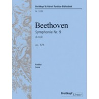 BEETHOVEN L. SYMPHONIE NR 9 OP 125 FINAL CHANT PIANO