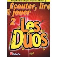 ECOUTER LIRE JOUER LES DUOS VOL 2 TROMPETTES