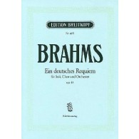 BRAHMS J. REQUIEM ALLEMAND CHANT