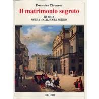 CIMAROSA D. LE MARIAGE SECRET CHANT PIANO