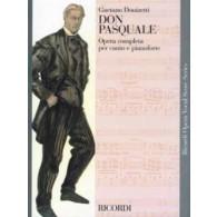 DONIZETTI G. DON PASQUALE CHANT PIANO