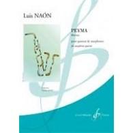 NAON L. PEYMA 4 SAXOPHONES