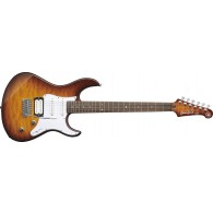 YAMAHA PACIFICA PA212VQM TOBACCO BROWN SUNBURST