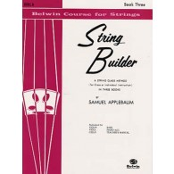 APPLEBAUM STRING BUILDER VOL 3 ALTO ELEVE