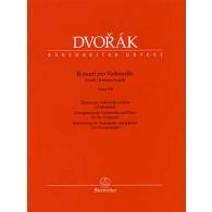 DVORAK A. CONCERTO OP 104 VIOLONCELLE