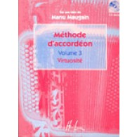 MAUGAIN M. METHODE ACCORDEON VOL 3