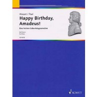 DIETRICH P. HAPPY BIRTHDAY, AMADEUS PIANO