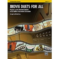 MOVIE DUETS FOR ALL CLARINETTES BB OU BASSES