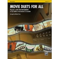 MOVIE DUETS FOR ALL PERCUSSIONS