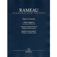 RAMEAU J.P. PIECES DE CLAVECIN VOL 2