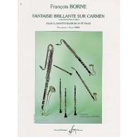 BORNE F. FANTAISIE BRILLANTE SUR CARMEN CLARINETTE