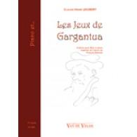 JOUBERT C.H. LES JEUX DE GARGANTUA FLUTE